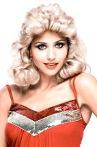 Farrah Fawcett Wig 1970's Feathered Blonde