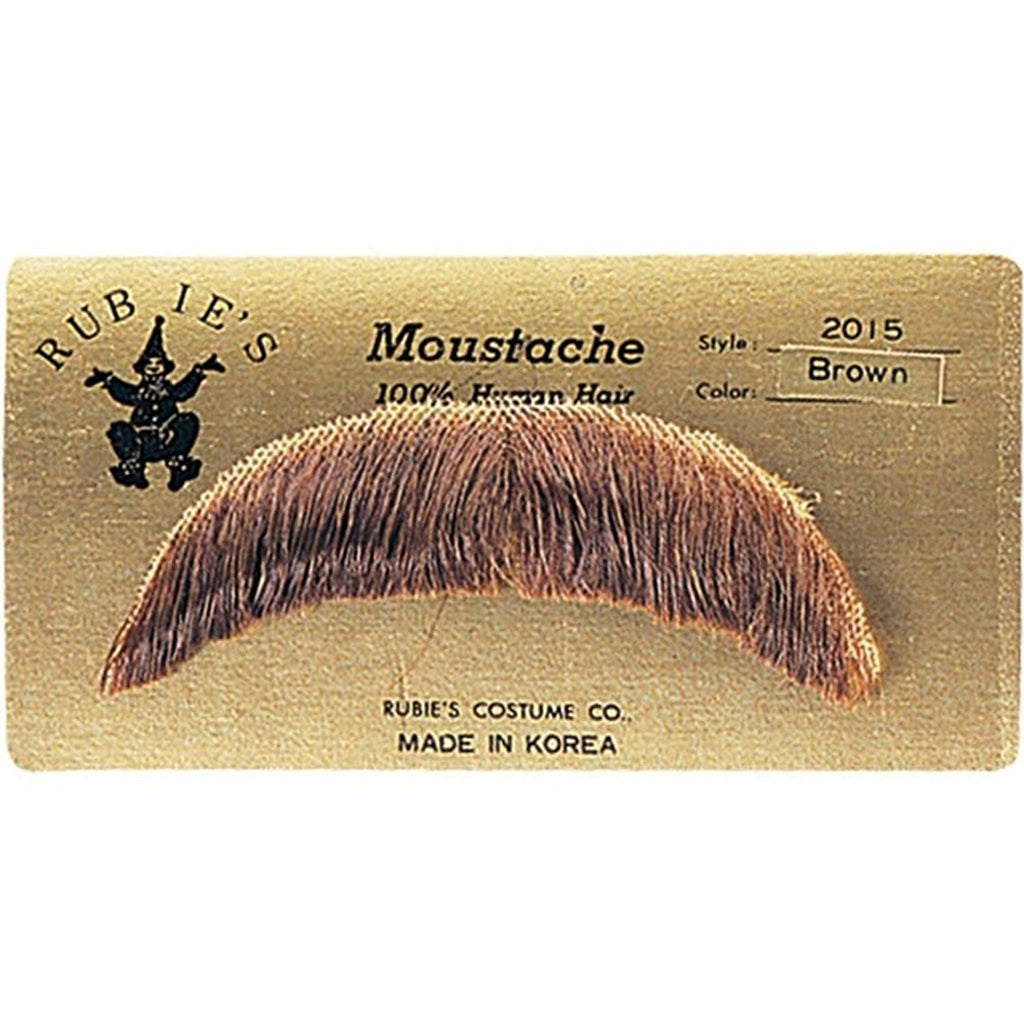 Basic Character Moustache  100% Human Hair