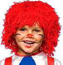 Raggedy Andy Wig