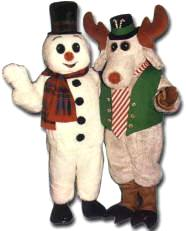 Frosty the Snowman & Christmas Peppermint Moose