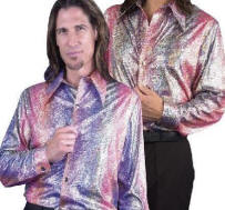 Disco Shirt Hologram - Snake