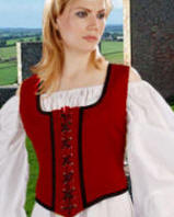 Reversible Wench Bodice-Decorated
