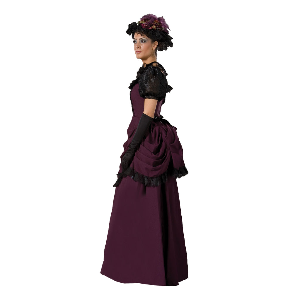 Women's Purple Victorian Emma Dress
