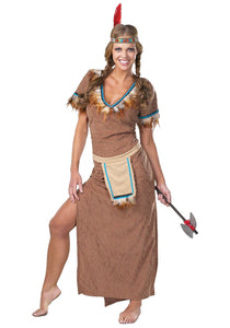 Tiger Lily Native American   Indian Costume
