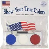 Mehron Tri Color True Colors  Makeup Palette