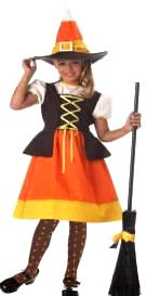 Child Sweet Candy Witch Costume