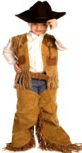 Child Leather Western Cowboy Chaps