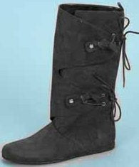 Men's Renaissance, Medieval,  Native American Indian or  Mountain Man Side Lace Boot