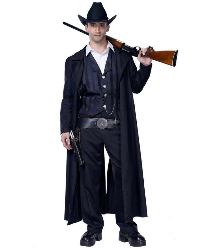 Western Gunslinger Bounty Hunter Costume