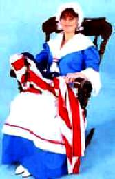 Martha Washington or Betsy Ross