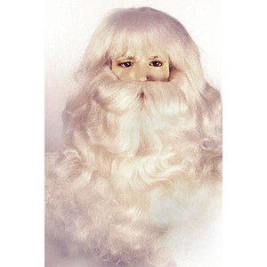 Santa Claus Yak Wig & Beard Set (Extra  Full)