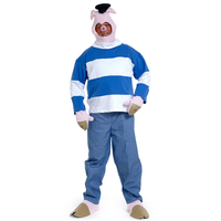 Three Little Pigs (3rd Pig, Brick) Adult Costume
