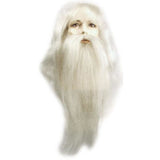 Santa Claus Yak Wig & Beard Set with Mustache
