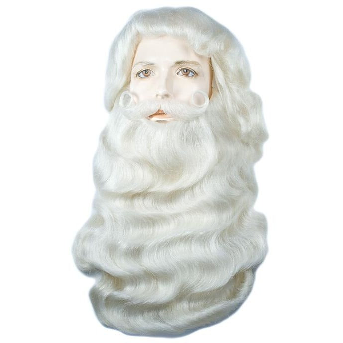 Santa Claus Yak Wig & Beard Set, with options
