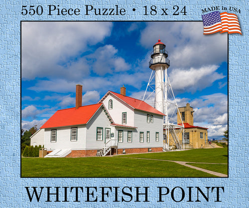 Whitefish Point Puzzle (USA Made) - 1071924246