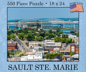 Sault Ste. Marie Puzzle (USA Made) - 1071924244