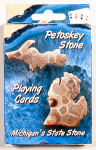 Playing Cards - Michigan Petoskey Stone - 1071924171