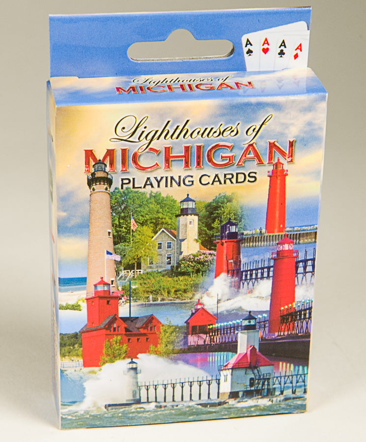 Playing Cards - SW Michigan Lighthouses - 1071924173
