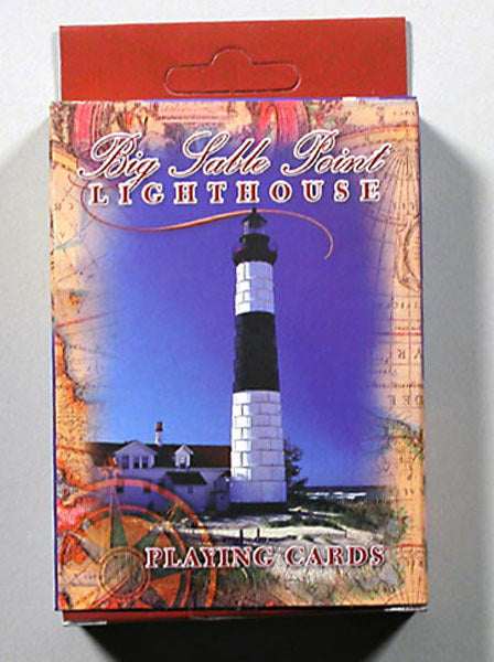 Playing Cards - Big Sable Point Lighthouse - 1071924177