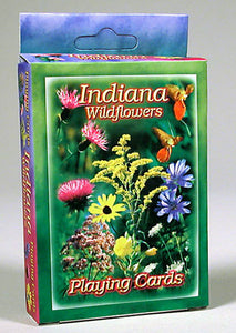 Playing Cards - Indiana Wildflowers -1071924182
