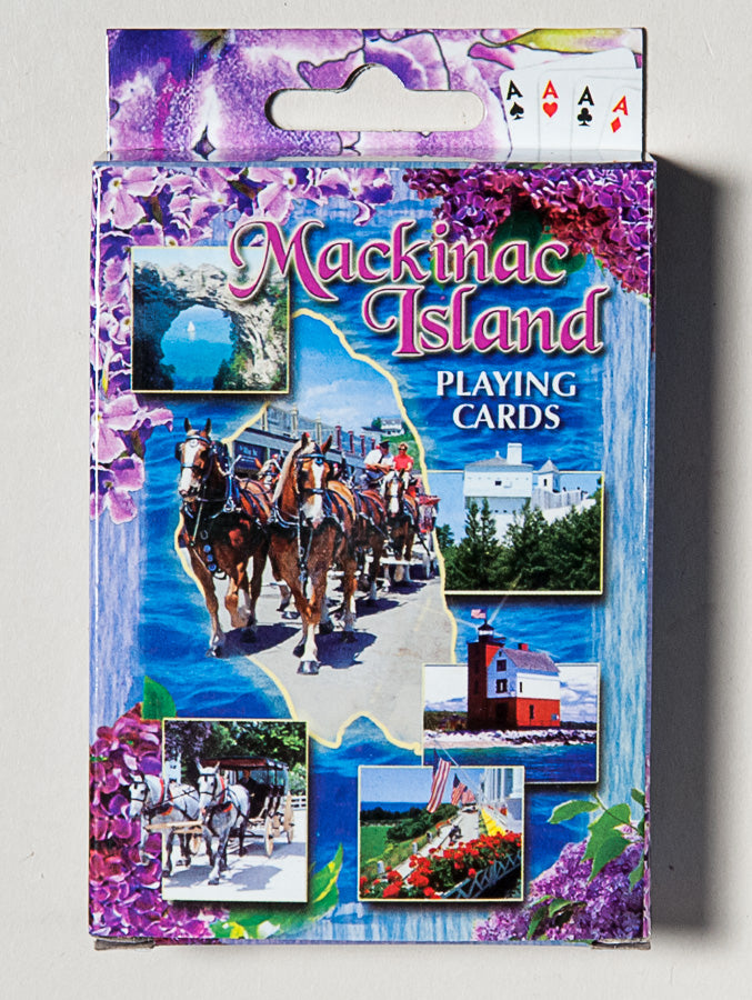 Playing Cards - Mackinac Island - Lilac Theme - 1071924208