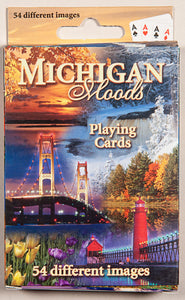 Playing Cards - 54 View - Michigan Moods - 1071924215
