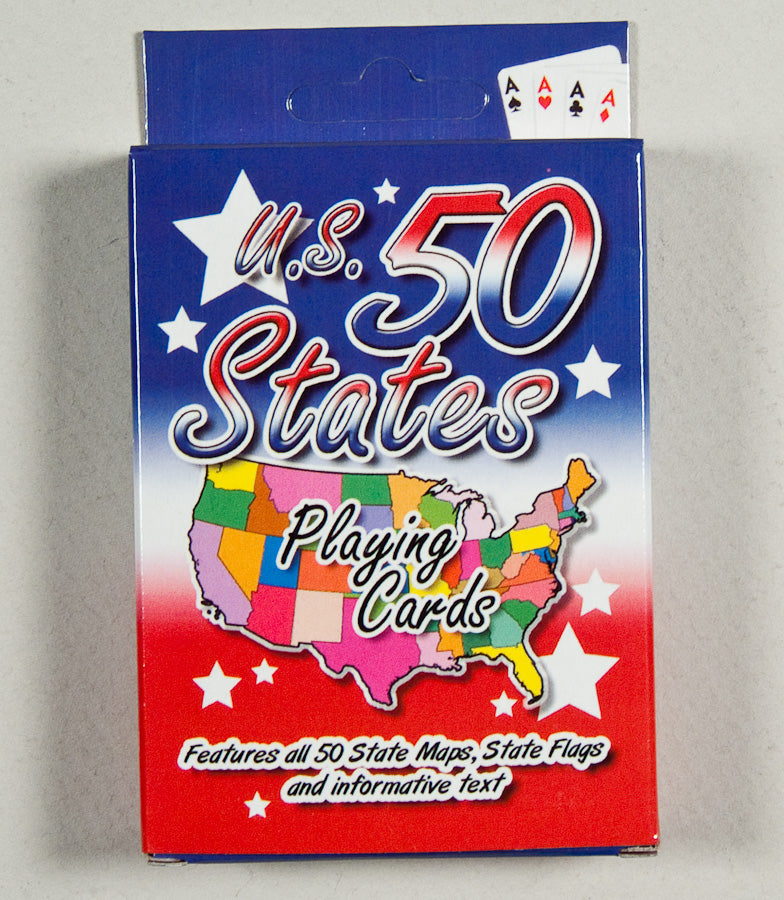 Playing Cards - U.S. 50 States - 1071924228