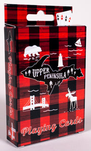 Playing Cards - Upper Peninsula Plaid Theme - 1071924247