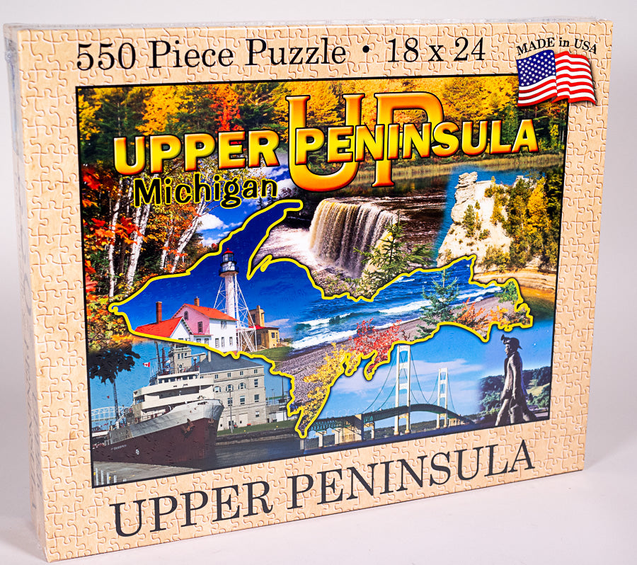 Upper Peninsula Puzzle (USA Made) - 1071924252