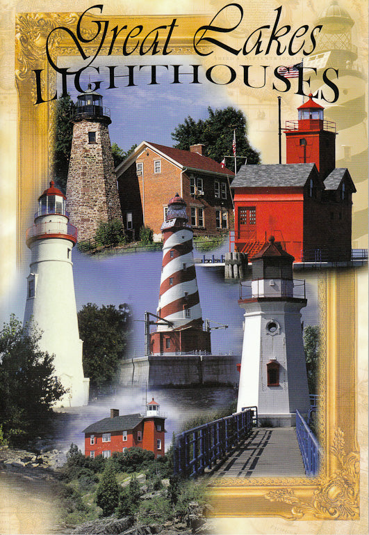 Great Lakes Lighthouses - 7x10 Guide Book - 1071930111