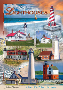 Michigan Lighthouses - 7x10 Guide Book - 30112