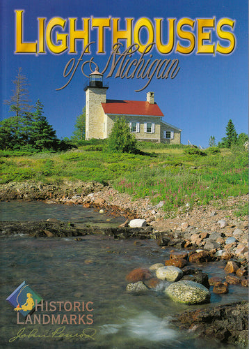 Michigan Lighthouses - 72 Page Book - 1071930113