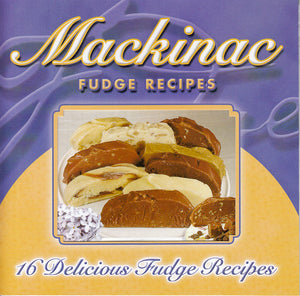 Mackinac Fudge Cookbook - 6x6
