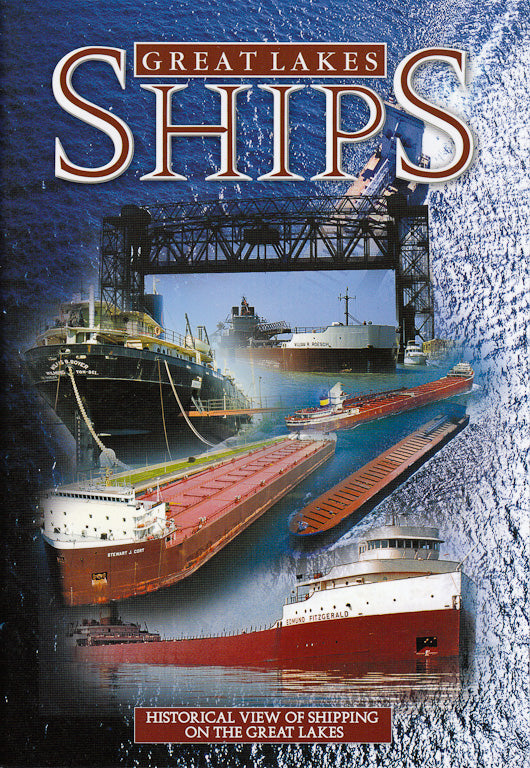 Great Lakes Ships - 7x10 Guide Book - 1071930138
