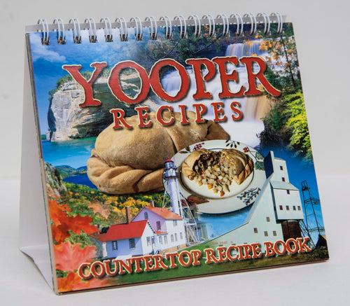 Desktop Yooper Cookbook - 6x6