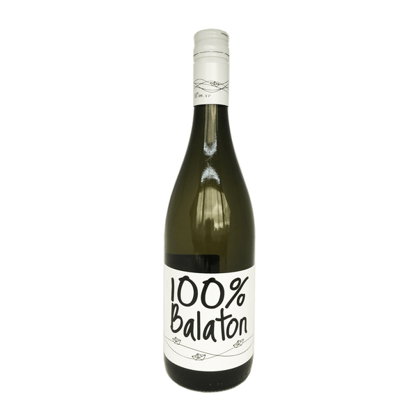 Homola, 100% Balaton wine bottle