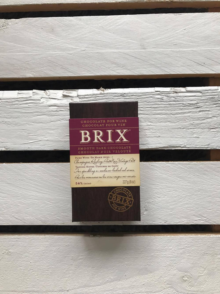 Brix, Chocolate Smooth Dark Bar 54%