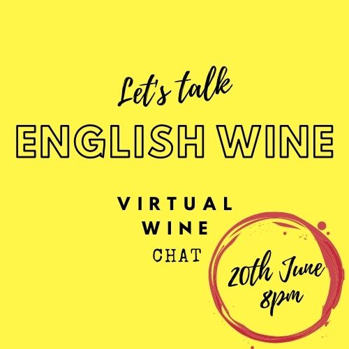 Let's Talk English Wine Virtual Wine Chat