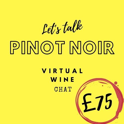 Let's Talk Pinot Noir Virtual Wine Chat Tasting Case