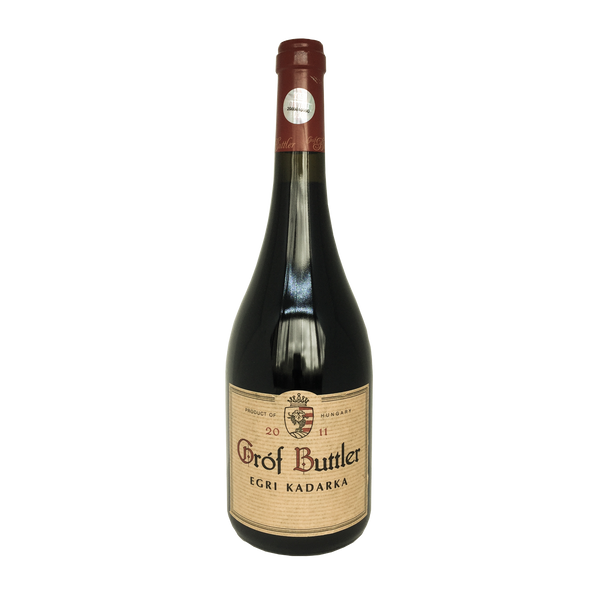 Grof Buttler, Kadarka wine bottle