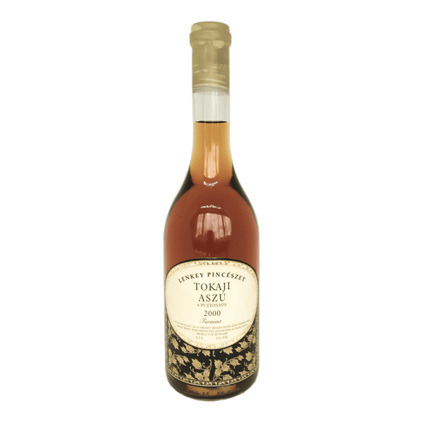 Lenkey, Tokaji Aszu 6 Puttonyos wine bottle