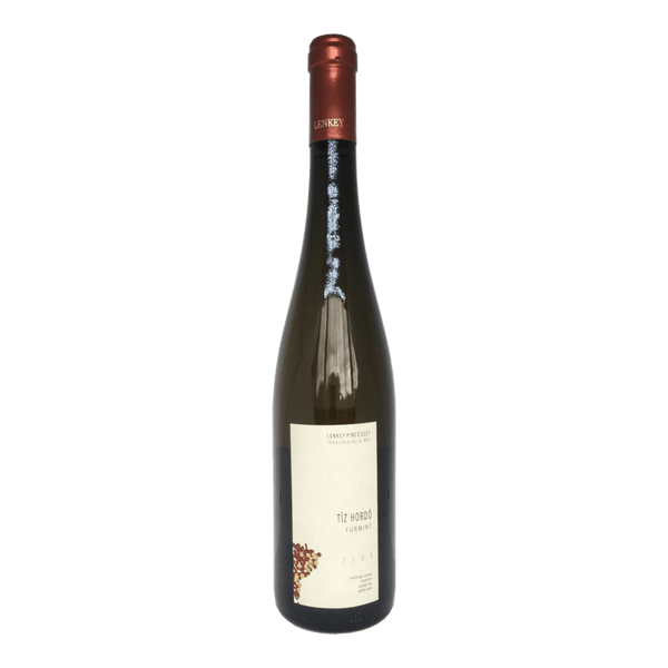 Lenkey, Tiz Hordo Furmint wine bottle