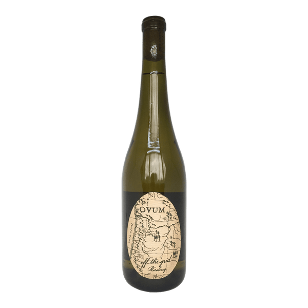 Ovum, Off The Grid Riesling wine bottle