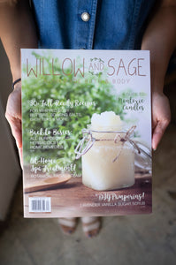 Willow and Sage Magazine Feature