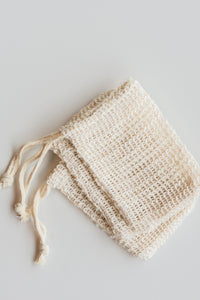 Casa Agave™ Woven Soap Bag - Exfoliating Scrubber -  2 Pack