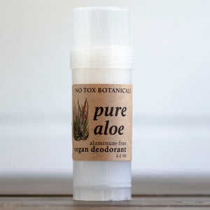 Deodorant (Pure Aloe Fragrance-Free) - Extra Strength Odor Control - 2.5 oz Tube