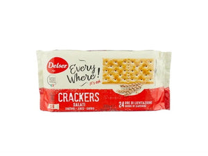 Delser Salted Crackers -  200g