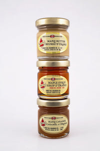 Turkey Hill Triple Maple: Maple Caramel, Maple Butter and Maple Syrup 3x32ml