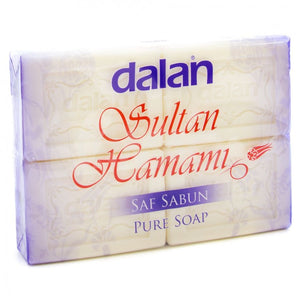 Dalan Sultan Hamami- Pure Soap (pack 4)- 500g