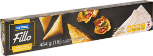 Krinos Fillo Pastry sheets - 454g FROZEN **** deliveries : GTA only ****